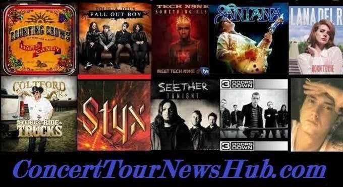 ConcertTourNewsHub Schedule, Tickets & Artist Info